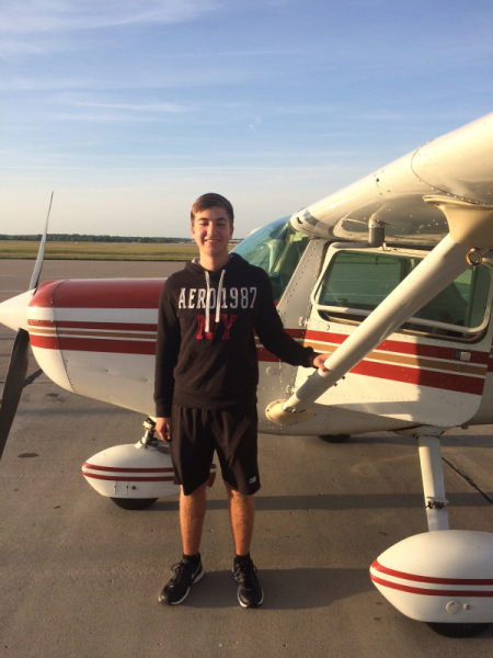 Ryan Stapf soloed September 7th, 2017