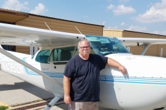 Wayne Crump soloed September 24, 2017